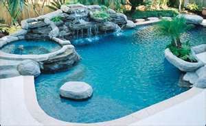 WITH A POOL AND SPA